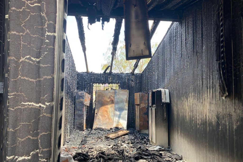 robos vandalismo incendios escuelas