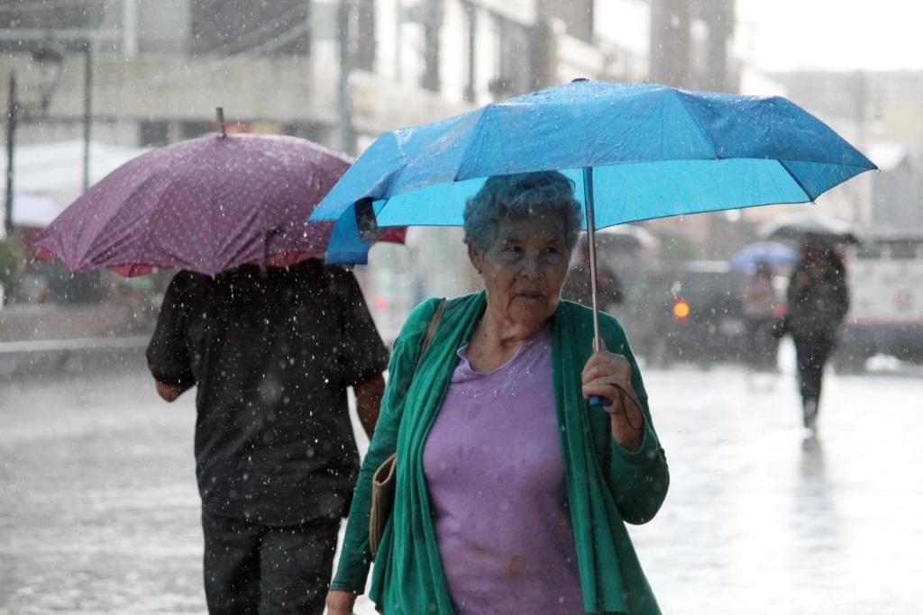 lluvia eletrica granizo aguascalientes tormenta