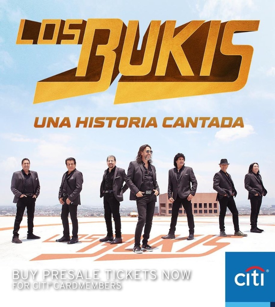 boletos de los bukis