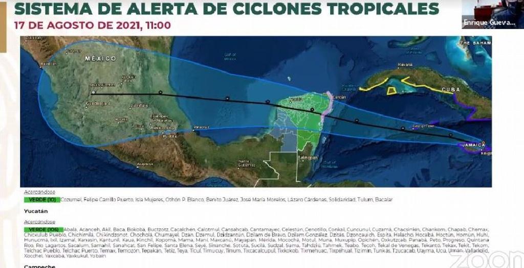 Aguascalientes, en peligro bajo por ciclón Grace
